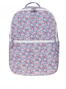 Krémový dámský květovaný batoh Cath Kidston