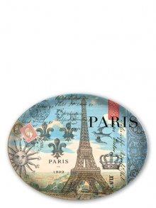 Michel Design Works Skleněná oválná mýdlenka - Paříž\n\n