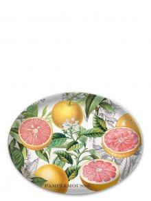 Michel Design Works Skleněná oválná mýdlenka - Růžový grapefruit GSD247\n\n
