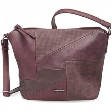Tamaris Elegantní crossbody kabelka Bimba Crossbody Bag 2372172-631 Vino comb.