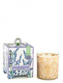 Michel Design Works Vonná svíčka ve skle - Levandule a rozmarýn, 184 g\n\n