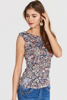 Blue Shadow Dámský top sleeveless faraon 4 multicolour\n					\n