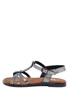 Julie Julie Dámské sandály 923_MIREL_CRACK_NERO