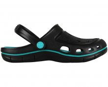 Coqui Dámské pantofle Jumper 6352 Black/Turquoise 102035 38