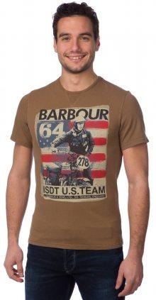 Barbour Tričko MTS0130_aw15 S hnědá