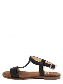 Julie Julie Dámské sandály 349_MIREL_INTRECCIO_NERO