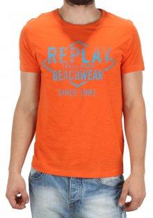 Pánské tričko s potiskem Replay