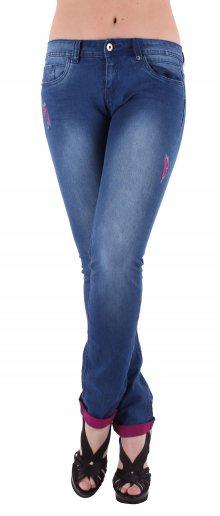 Dámské jeansové kalhoty Stitch Soul