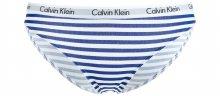 Kalhotky Calvin Klein | Modrá Bílá | Dámské | L