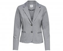 ONLY Dámský blejzr Ariel L/S Blazer Jrs Light Grey Melange XL