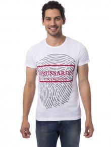 Trussardi Collection Pánské tričko M2 BERRA_Bianco/White