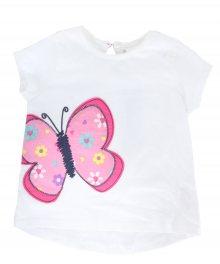 Dívčí stylové tričko s krátkým rukávem