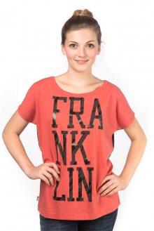 Franklin&Marshall Dámské tričko TSWAL672_aw15 červená\n\n