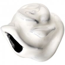Morellato Ocelový přívěsek Drops White Rose SCZB0
