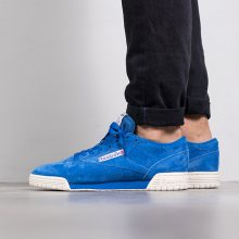 Boty - Reebok Classic   MODRÁ   46 - PÁNSKÉ BOTY sneakers Reebok Ex-O-Fit Lo Clean Vintage \