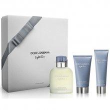 Dolce & Gabbana Light Blue Pour Homme - EDT 125 ml + balzám po holení 75 ml + sprchový gel 50 ml