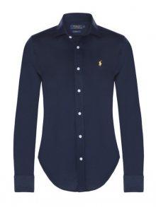 Modro-žlutá prémiová košile od Ralph Lauren Velikost: L