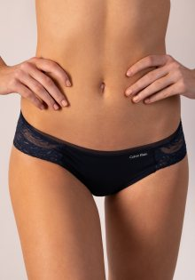Dámské kalhotky Calvin Klein QF4450 S Tm. modrá