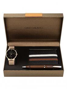 Gino Milano Dárková sada hodinek pro pány MWF17-212RG\n\n