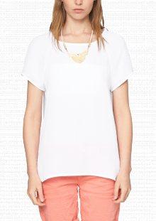 s.Oliver Dámské tričko 127222_505de bílá\n\n