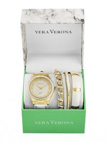 Vera Verona Dárková sada hodinek pro dámy MWF17-057G\n\n
