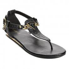 Guess Dámské sandále GUESS Factory Women´s Sara Logo Sandals Black 37,5