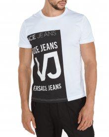 Triko Versace Jeans | Černá Bílá | Pánské | XL