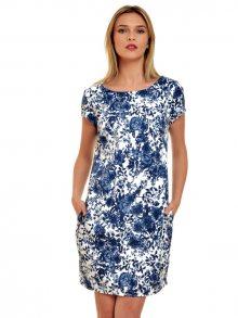 LaRue Dámské šaty L54_blue print\n\n