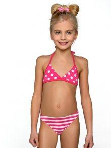Lorin Dětské plavky MAILLOT 2 PIECES DP2 V1 PINK\n\n