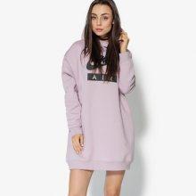 Nike Mikina W Nsw Hoodie Os Air Ženy Oblečení Mikiny Ah0235-694 Ženy Oblečení Mikiny Růžová US M