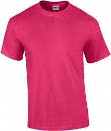 Tričko Gildan Ultra - Sytě růžová S