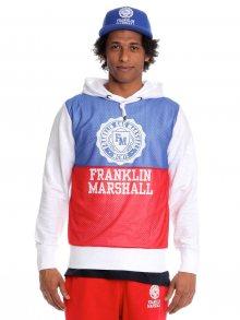 Franklin&Marshall Pánská mikina FLMVA101_ss15 bílá
