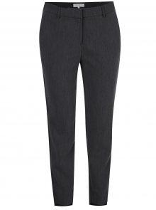 Tmavě šedé společenské kalhoty Selected Femme Amila