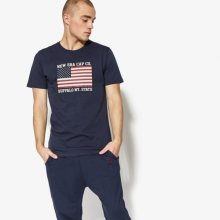 New Era Tričko Ss World Hood U.s.a. Tee New Era Night Shift Muži Oblečení Trička 11517684 Muži Oblečení Trička Tmavomodrá US M