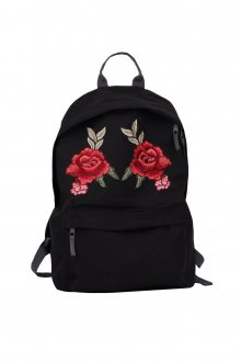 Batoh Simple Double Rose Patch