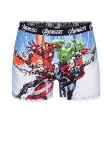 Modré boxerky s motivy superhrdinů Avengers