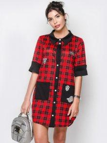 Zoe Dámské šaty 60353-1_red