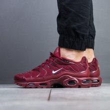 Boty - Nike | BORDÓ, CZERWONY | 46 - Pánské boty sneakers Nike Air Max Plus \
