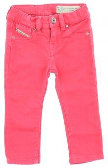 Jeans dětské Diesel | Růžová | Dívčí | 3 měsíce