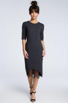 BeWear Dámské šaty b078_graphite