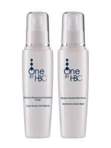 One by HBC Obličejový peeling+Čistící pleťová maska Cleansing Duo, In Depth Hydration & Purifyer, 150 ml + 150 ml\n					\n