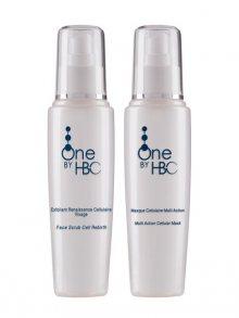 One by HBC Obličejový peeling+Čistící pleťová maska Cleansing Duo, In Depth Hydration & Purifyer, 150 ml + 150 ml\n\n