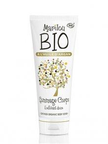 Marilou BIO Tělový peeling s arganovým olejem GOMMAGE CORPS A L HUILE D ARGAN, 100 ml\n\n