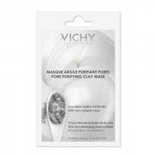 Vichy Minerální čisticí jílová pleťová maska (Pore Purifying Clay Mask) 2 x 6 ml