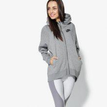 Nike Mikina W Nsw Modern Cape Ženy Oblečení Mikiny 885595-091 Ženy Oblečení Mikiny Šedá US S