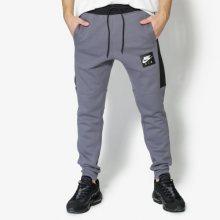 Nike Kalhoty M Nsw Jggr Air Flc Muži Oblečení Kalhoty 886048-021 Muži Oblečení Kalhoty Šedá US XXL