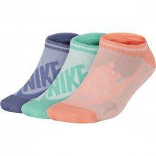 Nike Nsw Womens 3Ppk Striped fialová M