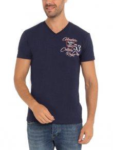 Denim Culture Pánské tričko B-403_NAVY\n\n