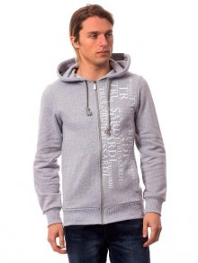 Trussardi Collection Pánská mikina U41TRC7002_Gri Md/Md Grey