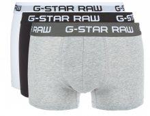 Boxerky 3 ks G-Star RAW | Černá Bílá Šedá | Pánské | L